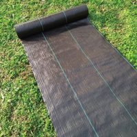 does landscape fabric let water through