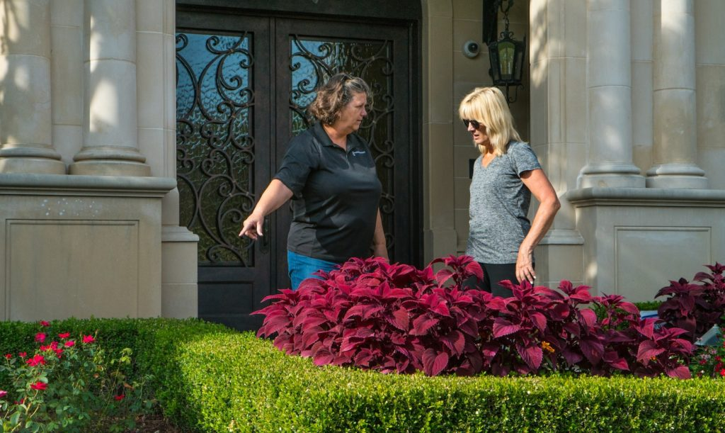 how to get lawn care customers fast