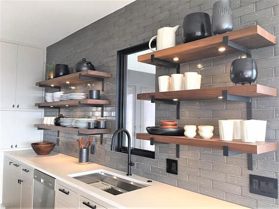 where to buy floating shelves for kitchen